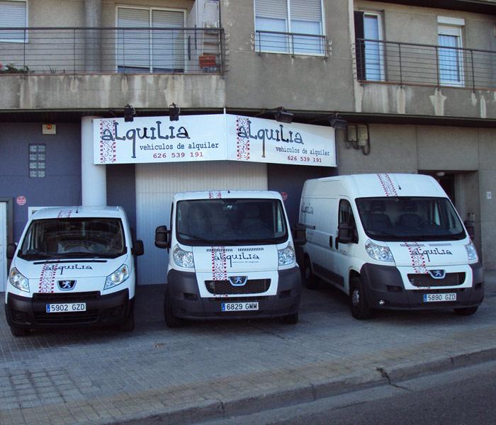 Alquila Furgonetas Zaragoza