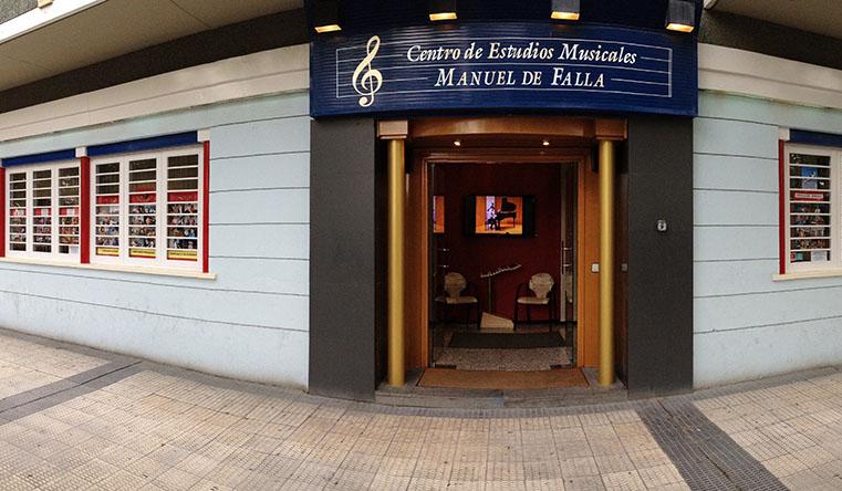 Estudios musicales Manuel de Falla